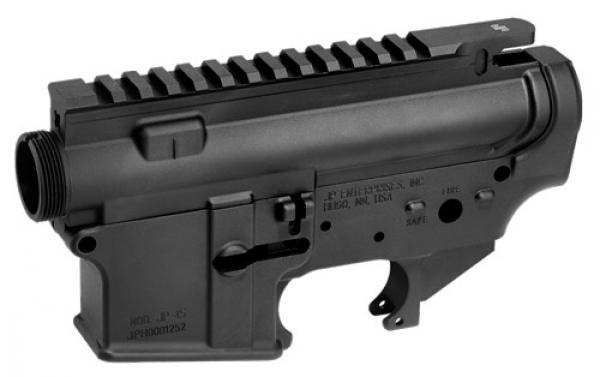 JP RIFLES | JP-15 Forged Upper and Lower Receiver Set, Stripped